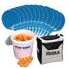 Kit de tennis de table Cornilleau® « Tacteo 30 », Balles orange