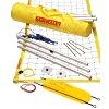 Kit de beach-volley SunVolley® «Standard», Avec lignes de délimitation