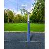 But de basket Sport-Thieme® «Fair Play Silent», Panier «Outdoor » à déclenchement, 120x90 cm