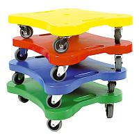 Scooter-Board 4er Set