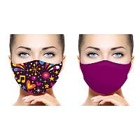 Set Gesichts- und Alltagsmasken