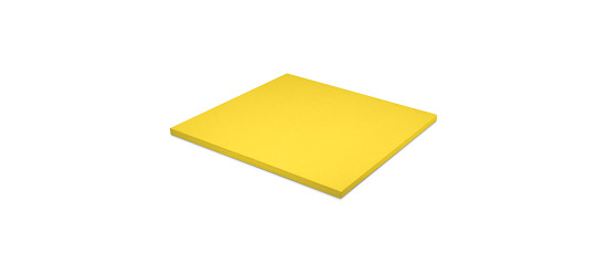 Judomatte  Tafelgrösse ca. 100x100x4 cm, Gelb