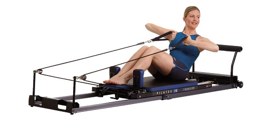 Balanced Body IQ Reformer pour Pilates Roulettes horizontales