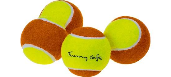 Balles d'initiation Sport-Thieme® « Funny Soft » Lot de 4