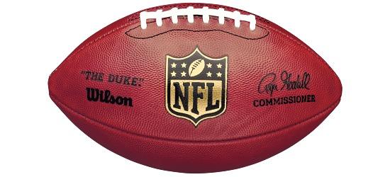 Ballon de football américain Wilson® « Duke Game Ball »