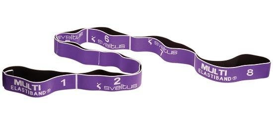 Bande élastique Sveltus « Multi » 15 kg, violet