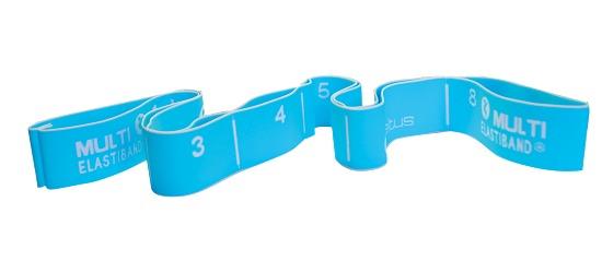 Bande élastique Sveltus « Multi » 20 kg, bleu