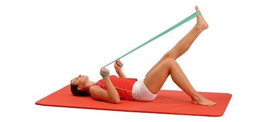 Bande de fitness Sport-Thieme®150 2 m x 15 cm, Vert = facile