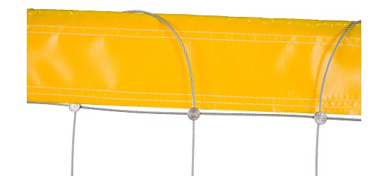 Beachvolleyballnetz aus Dralo Ohne Ummantelung