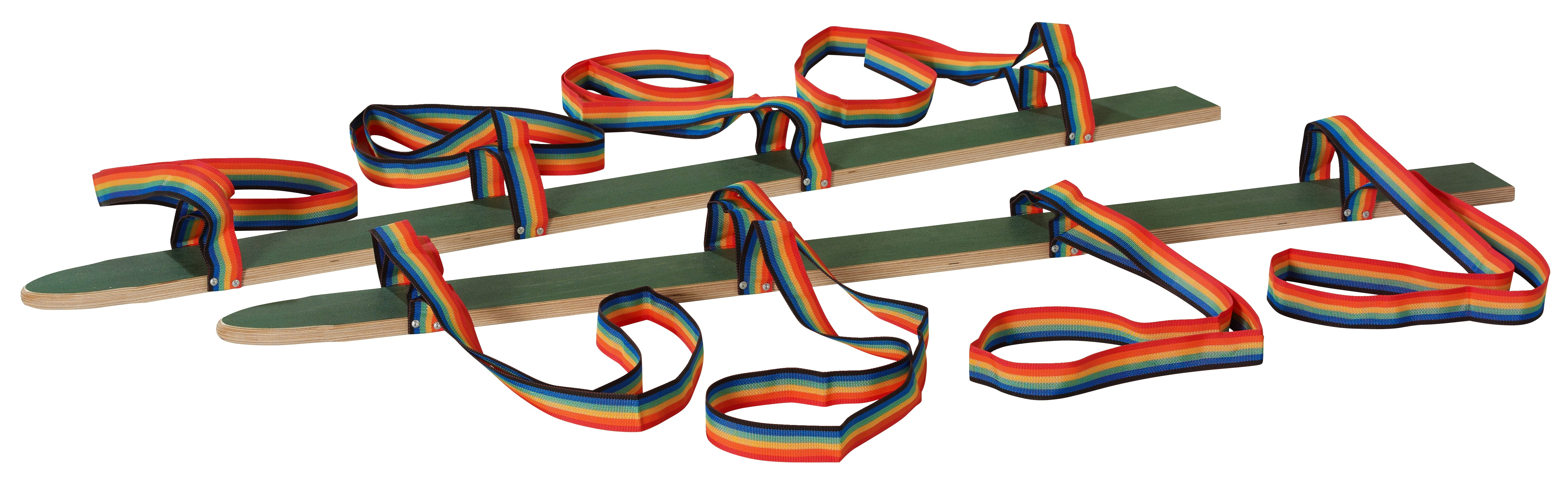 Coordo-ski Pedalo® « Sangle main/pied » Longueur 160 cm pour 4 personnes