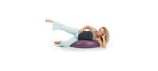Coussin ballon Togu® « Dynair Extreme » Violet