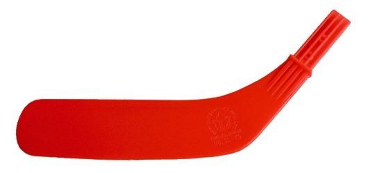 Dom Lame de rechange pour crosse de hockey « Junior » Lame rouge