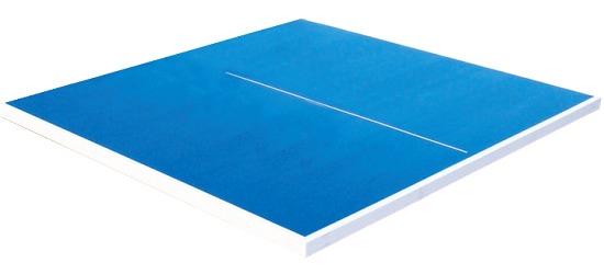 Ersatz-Tischtennis-Plattenhälfte