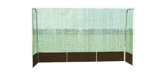 Feldhockey-Tornetze Schnurstärke 3 mm, Maschenweite 4,5 cm
