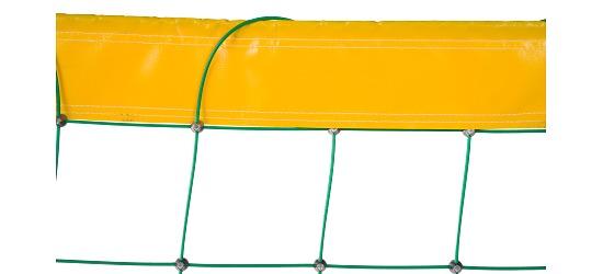 Filet de beach-volley en Dralo Avec revêtement plastique