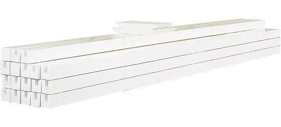 Hallen-Hockeybande Ohne Kunststoffprallschutz