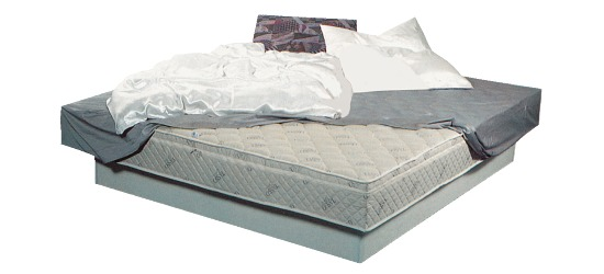 Original Tasso-Wasserbett 100x220x50 cm