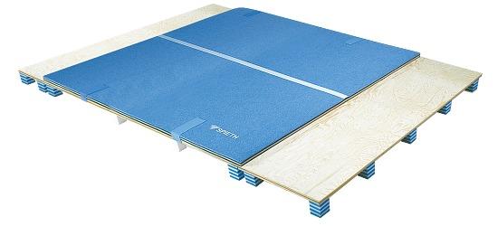 Piste de tumbling Spieth® « Stuttgart » (kit) Kit 9 éléments = 10,98 m
