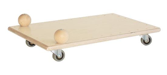 Planche à roulettes Pedalo® « Classic » Avec boules de préhension
