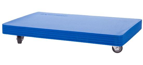 Planche à roulettes Sport-Thieme «Soft» Rembourrage bleu