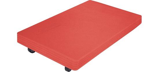 Planche à roulettes Sport-Thieme «Soft» Rembourrage rouge