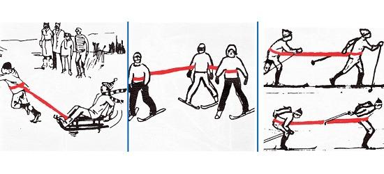 """Reivo®-Band """"Ski"""", 4 m"""