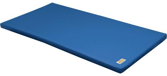Reivo Tapis de gymnastique combinable « Sécurité » Polygrip bleu, 200x100x8 cm