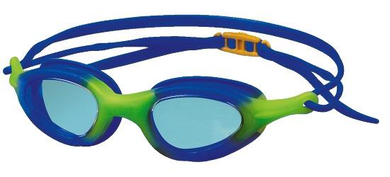 """Schwimmbrille """"Top"""" Blau-Limone: Kinder/Jugendliche"""