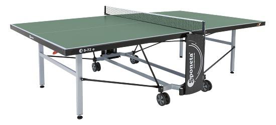 """Sponeta Tischtennisplatte  """"S 5-72 e / S 5-73 e"""" Grün"""