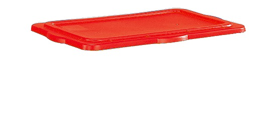 Sport-Thieme Couvercle clipable pour boîte de rangement Rouge