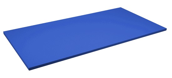 Sport-Thieme® Judomatte  Tafelgrösse ca. 200x100x4 cm, Blau
