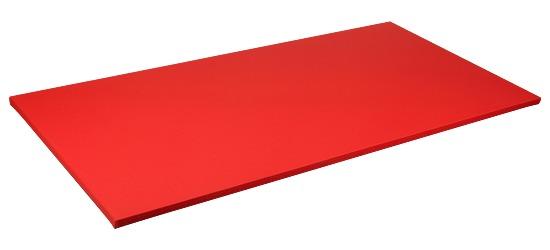 Sport-Thieme® Judomatte Tafelgrösse ca. 200x100x4 cm, Rot