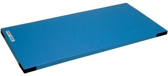 Sport-Thieme® Kinder-Leichtturnmatte, 150x100x6 cm Mit Klettecken, Blau