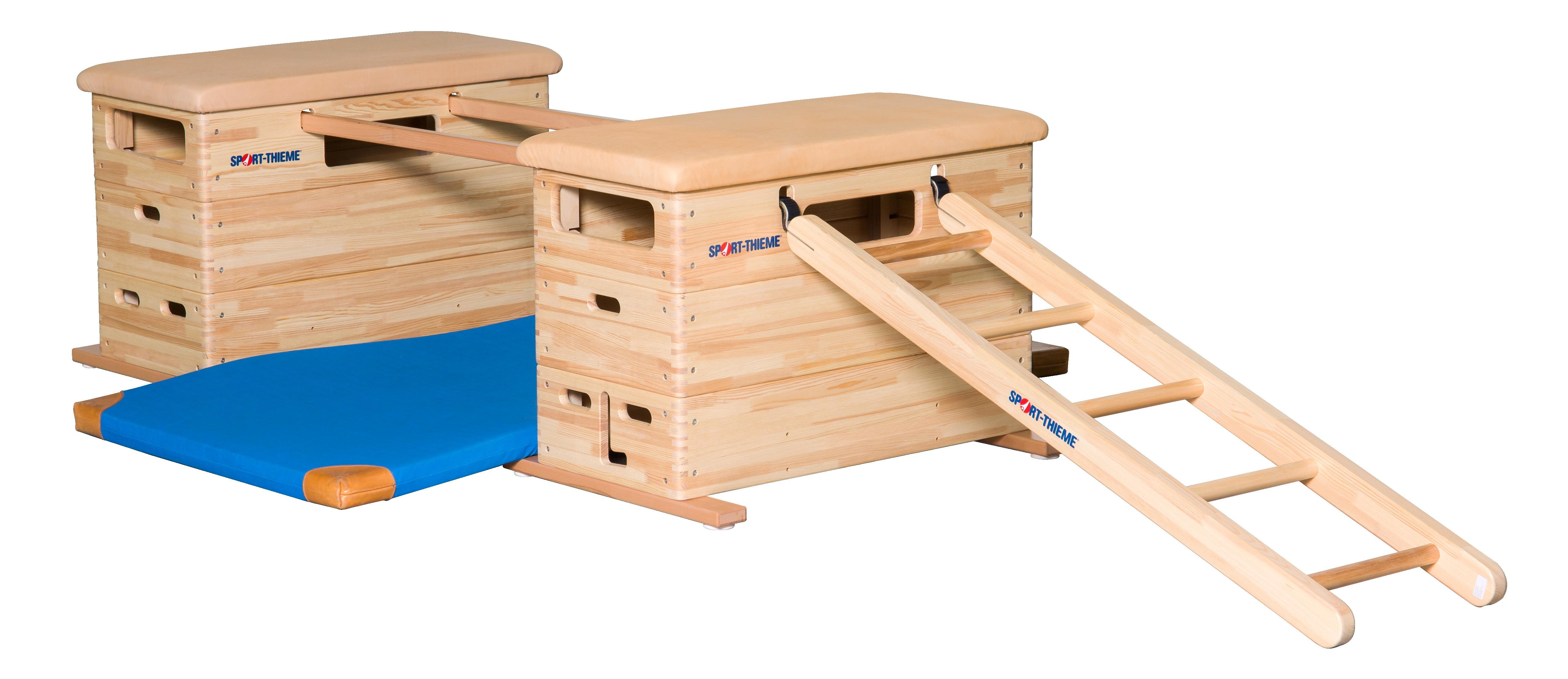 """Sport-Thieme® Mini-Sprungkasten Set """"Vario"""" Ohne Schwenkrolleneinrichtung"""