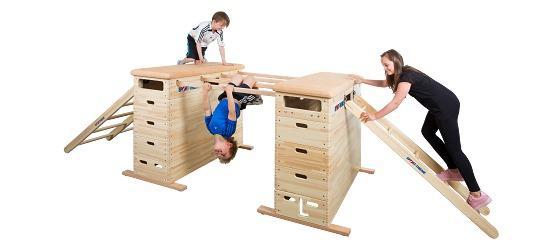 """Sport-Thieme® Sprungkasten-Set """"Vario"""" Ohne Schwenkrolleneinrichtung"""