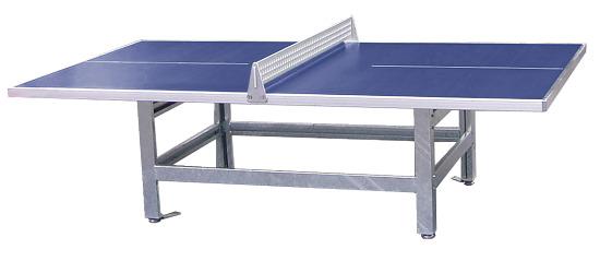 Sport-Thieme Table de tennis de table en béton polymère « Standard » Bleu