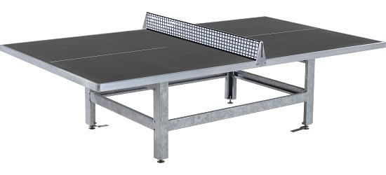 Sport-Thieme Table de tennis de table en béton polymère « Standard » Anthracite