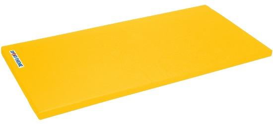 "Sport-Thieme® Turnmatte ""Spezial"", 200x100x8 cm Basis, Polygrip Gelb"