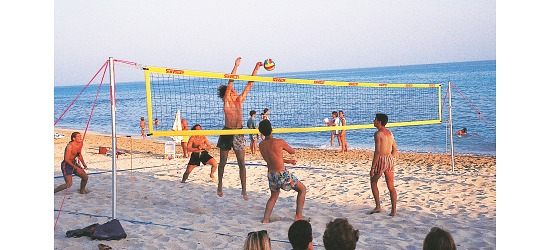 "SunVolley Beachvolleyball-Netz ""Plus"""