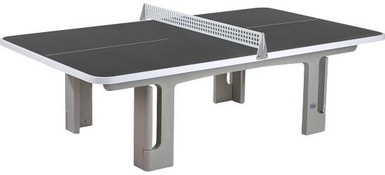 Table Sport-Thieme® en béton polymère « Champion »  Anthracite