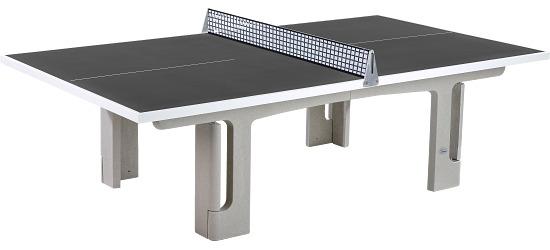 Table Sport-Thieme® en béton polymère « Pro »  Anthracite