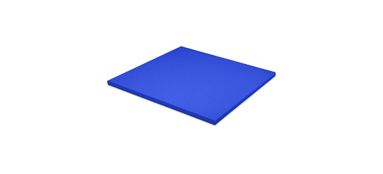 Tapis de judo / Tatami Dalle d'env. 100x100x4 cm, Bleu