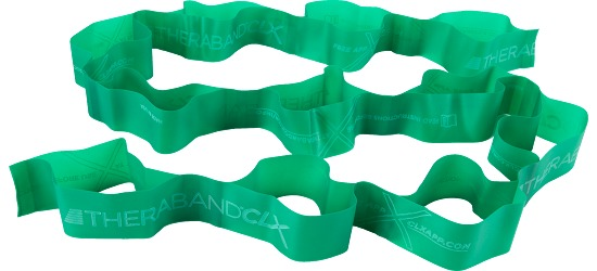 TheraBand CLX Bande Vert, difficile