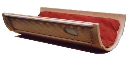 Zubehör für Allton Klangwiegen Ersatzsaite, Bass, umsponnen