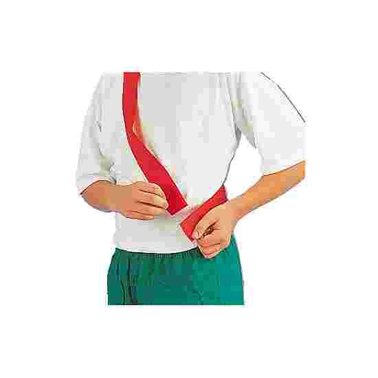 Écharpe de marquage avec fermeture auto-agrippante Enfant, L : env. 50 (100) cm, Rouge