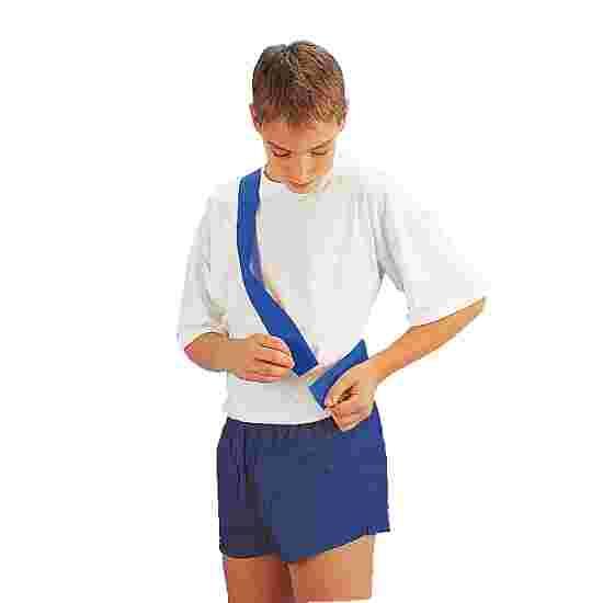 Écharpe de marquage avec fermeture auto-agrippante Enfant, L : env. 50 (100) cm, Bleu