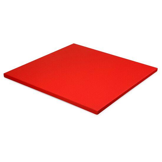 Judomatte  Tafelgrösse ca. 100x100x4 cm, Rot