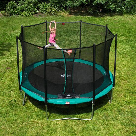 berg trampolin favorit mit sicherheitsnetz comfort sport. Black Bedroom Furniture Sets. Home Design Ideas