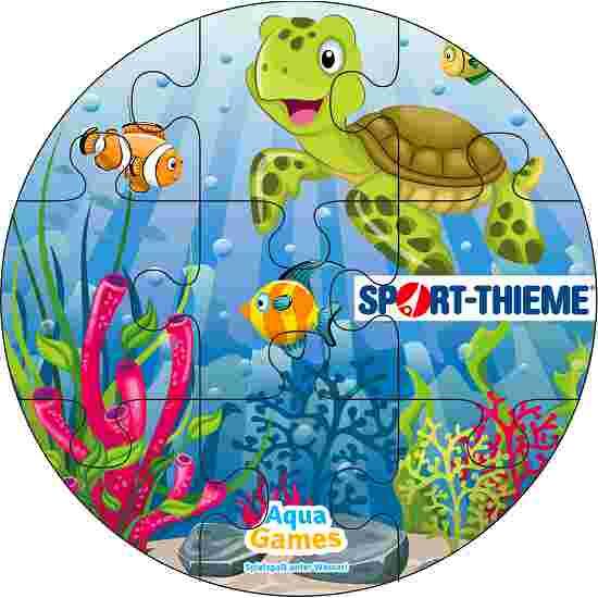 Aqua Game Puzzle Koralle, Rund