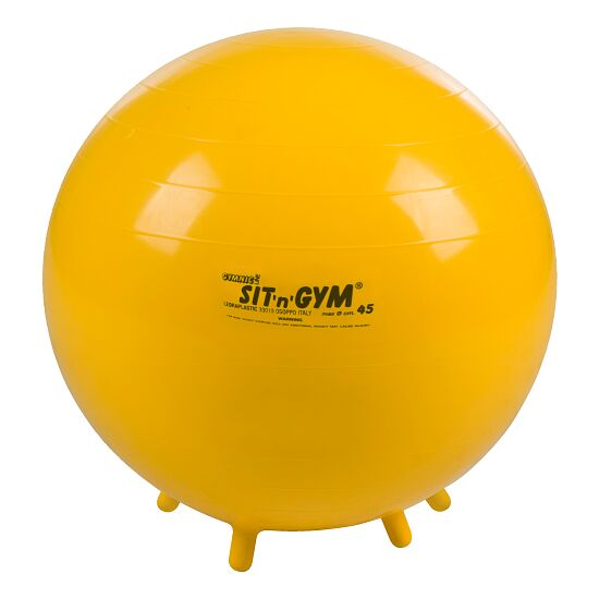 Ballon d'assise « Sit 'n' Gym » ø 45 cm, jaune